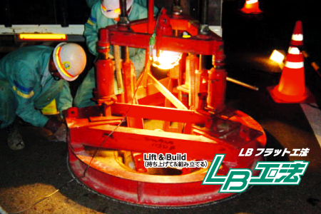 LBフラット工法