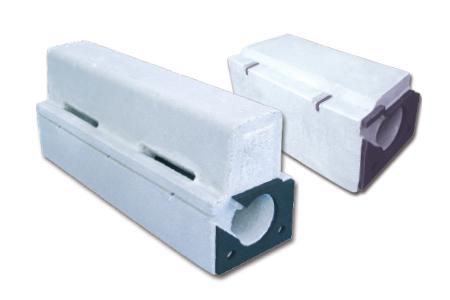 ライン導水ブロック-F型