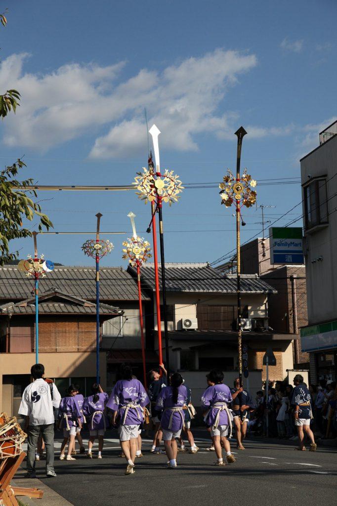 剣鉾巡行(吉田今宮社神幸祭・京都府京都市)