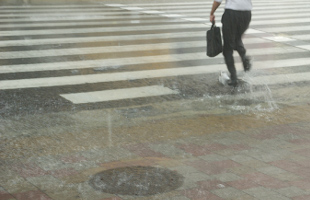 大雨による冠水イメージ01