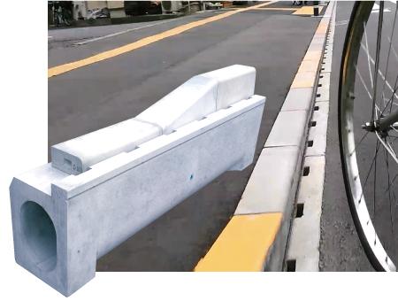 ライン導水ブロック-V型 300写真