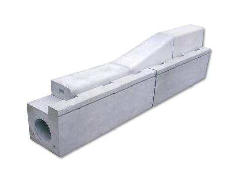 ライン導水ブロック-V型