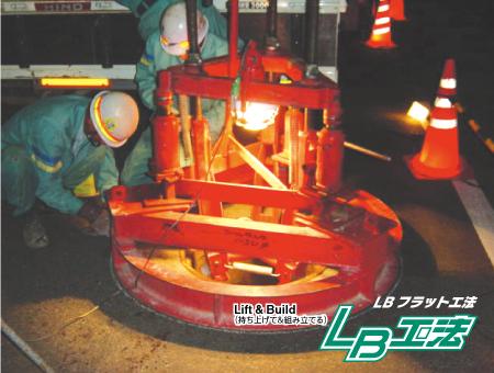 LBフラット工法写真