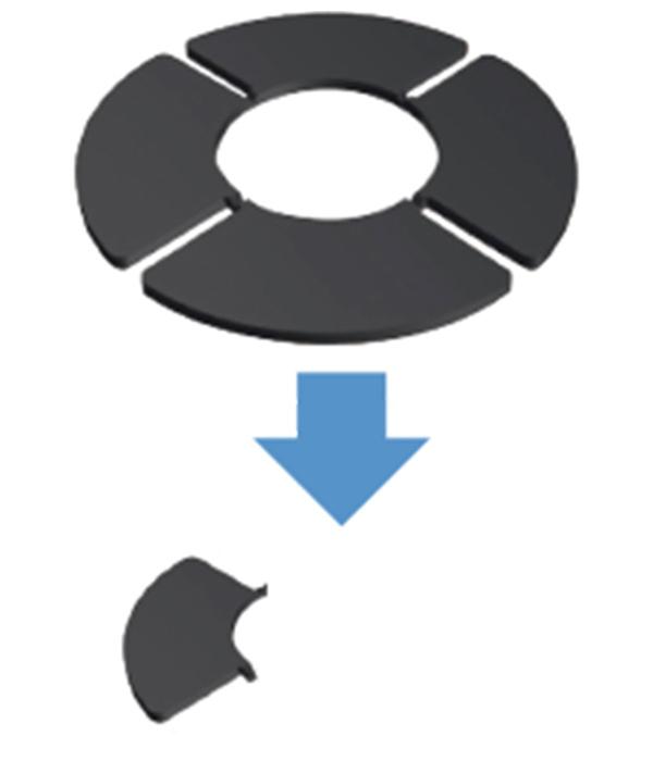 6.平板厚 交差の調整