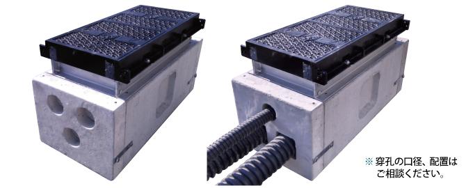S.D.BOX管路との接続方法イメージ