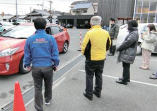 従業員への交通安全啓発活動を積極的に実施イメージ01