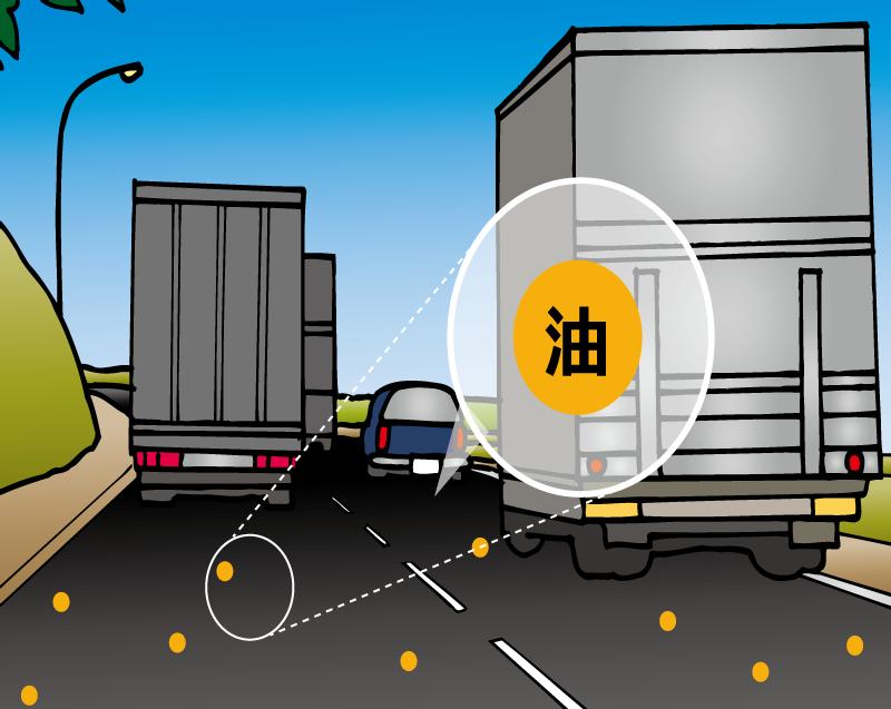 交通量の多い場所(バイパスなど)で使用